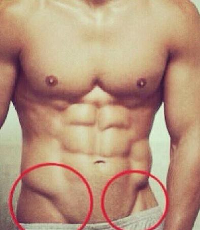 How to get v line muscles